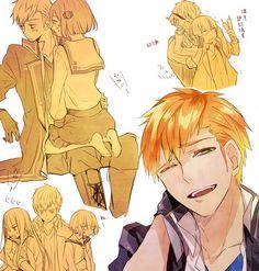 744x780 562kB Nanami, Image Boards, Shoujo, Animation, Fan Art, Manga, Gallery, Fictional Characters, Harems