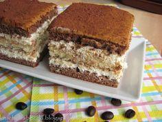 kruche babeczki: Ciasto a'la tiramisu :)