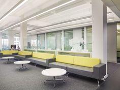 London Borough of Bexley, Carpet Tiles, Tile Design, Office Interiors, London, Interior Design, Table, Furniture, Home Decor, Nest Design