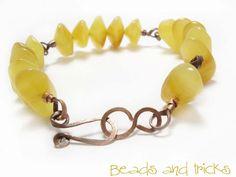 Un bracciale e il rame a nastro | Handmade by Beads and Tricks