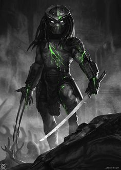 Predator——Alien Butcher, mist XG on ArtStation at https://www.artstation.com/artwork/EZvZ8?utm_campaign=notify&utm_medium=email&utm_source=notifications_mailer