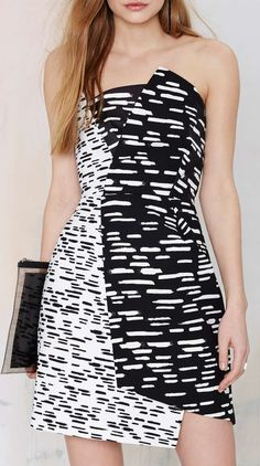 Cameo Don't Wait Asymmetrical Dress - Dash