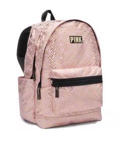 Mochila Victoria Secret, Victoria Secret Backpack, Victoria Secret Bags, Victoria Secrets, Vs Pink Backpack, Backpack Bags, Fashion Backpack, Trendy Backpacks, School Backpacks