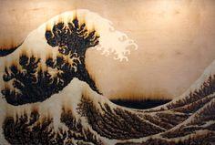 The Great Wave at Kanagawa Sine Wave, Types Of Art, Bleach, Pasta, Study, Studio, Art Types, Studying