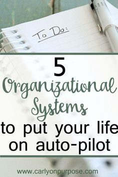 "great ""organization ideas"" for making life easier"