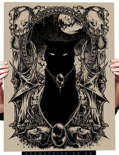 GodMachine's - BLACK CAT