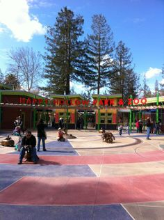 Happy Hollow Park & Zoo- Happy Hollow has a small zoo and a small amusement park for the price of one ticket. The amusement park features all you can ride carouselles, as well as a train and a puppet show. Happy Hollow is perfect for kids 2 to 5.