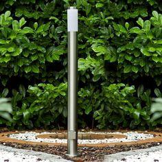 skapetze sydney pollerleuchte 110 cm mit steckdose edelstahl aussenleuchten pollerleuchten. Black Bedroom Furniture Sets. Home Design Ideas