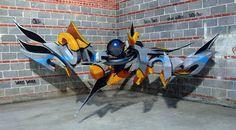Portekizli Sokak Sanatçısından Çarpıcı 3D Resimler
