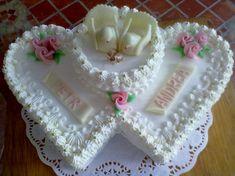 Cakes, Desserts, Wedding, Food, Pie Wedding Cake, Tailgate Desserts, Valentines Day Weddings, Deserts, Cake Makers