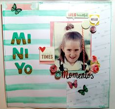 El scrap de Barma: Layout -Mini yo