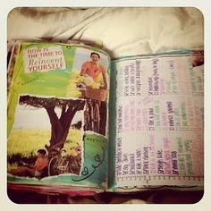 Kimberly wilson art journal pages!