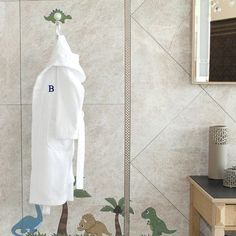Linum Home Textiles Terry Personalized 100% Turkish Cotton Hooded Unisex Bathrobe Size: Small, Letter: H