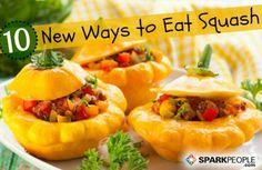 Awesome winter squash recipes here!
