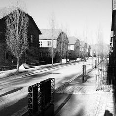 --- Photo by @jamon13 --- Auschwitz I. Blocks for prisoners (three blocks on the left belonged to the  camp infirmary). Germans created the camp in spring 1940 in former Polish army barracks. Most of the blocks of the camp had only one floor but later they were expanded.