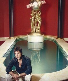 Al Pacino Scarface Tony Montana By World Is Yours Fountain Mini Poster Al Pacino, Scarface Film, Scarface Quotes, Scarface 1932, Scarface Poster, Movies Showing, Movies And Tv Shows, Gangster Movies, Gangster Quotes