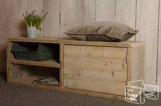 Steigerhouten tv-meubel Den Haag vanaf € 329,- - Uw Timmerwerk