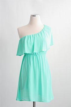 Sweet Sea Dress- Mint