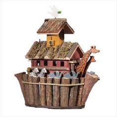 Amazon.com: Noah's ark birdhouse - Style 31248: Patio, Lawn & Garden