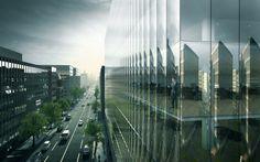 Galería - REX diseña edificio corporativo 'híper-transparente' en Washington DC - 2
