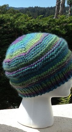 Ravelry: geekgirl's 2013 Wool Aid Hat 13 - Mad for Mochi in Crystal Palace Yarns Chunky Mochi