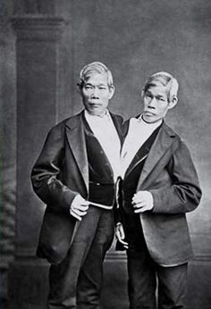 Conjoined twin Eng Bunker was drafted to fight in the Civil War in 1865. #civilwar