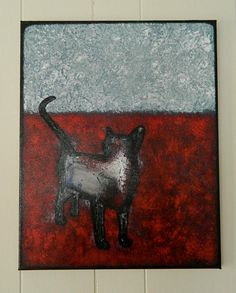 "Kitten Rescue Painting - SOLD Thank you Mary  Painted 2012 16"" x 20"""