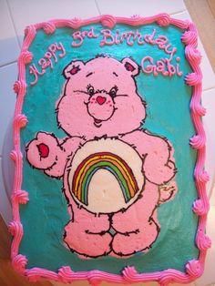 care bear cakes | BB Cakes: Care Bear Cake