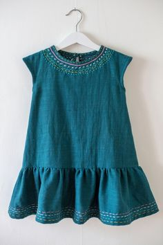Charlie + Geranium by Clara Falk | Project | Sewing / Kids & Baby | Dresses | Kollabora