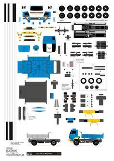 BB 30 LIAZ rada 151.261 prototyp - www.minimodel.cz - Minimodel.cz