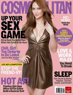 Arci Munoz the sexy and hot for June cover girl of Cosmopolitan June 2016 Magazine. On the cover, the singer-actress dons a low V-neck . Arci Munoz, Butterfly Live, Cosmopolitan Magazine, The Way You Are, Covergirl, Cover Photos, The Ordinary, Philippines, Hair Color