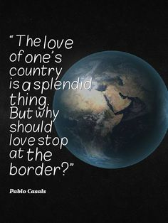 Why should we save the planet?