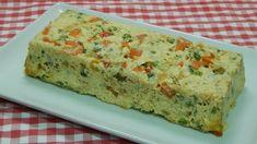 Receta fácil de terrina de verduras y queso (pastel de verduras)