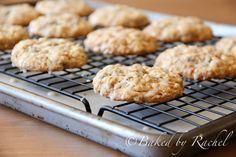 galletas de avena puré de manzana estafa glaseado de arce - al horno Por rachel