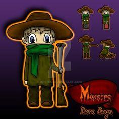 Monster Dark Saga by Inffra on DeviantArt