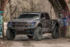 Is A Lean, Mean, Off-Roading Machine - ThrottleXtreme The itself is one monstrous truck, but this Raptor is even more imposing. The 2017 Gen 2 Ford Raptor is Ford F150 Raptor, Ford Ranger Raptor, Diesel Cars, Diesel Trucks, Diesel Engine, Jacked Up Trucks, Pickup Trucks, Pickup Camper, Cold Heart
