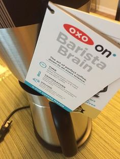 Luxury #OXOisON Barista Brain 9 Cup Coffee Maker thank you @influenster @oxo Art + Science Ready to try #coffeemaker #ad