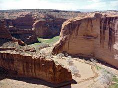 Cliffs above Antelope House Ruin