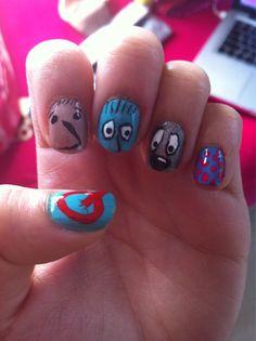 doug funny nails, 90s classic