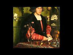 Ганс Гольбейн Младший. Портрет Георга Гисце.1532 г.