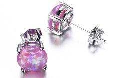 Purple Opal Earrings - MyBodiArt.com