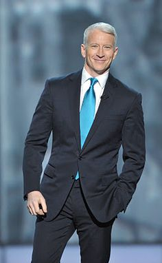 From the Shrine Auditorium Anderson Cooper opened the program ~ Anderson presented one of the ten individual awards to CNN Hero, Sal Di. Anderson Copper, Stars Then And Now, Sharp Dressed Man, Older Men, Gentleman Style, Attractive Men, Stylish Men, Swagg, Gorgeous Men