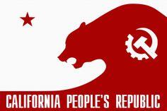 California People's Republic Bear Flag