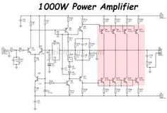 Crazy sound 1700w power amplifier circuit audio schematic pinterest 1000w power amplifier 2sc5200 2sa1943 ccuart Image collections