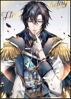 Happy Birthday to Zhou Zekai! Garçon Anime Hot, M Anime, Cool Anime Guys, Handsome Anime Guys, Anime Angel, The Kings Avatar, Anime Prince, Manga Boy, Anime Fantasy