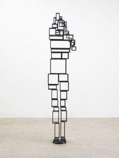 Amazing figurative sculpture by British artist Anthony Gormley.