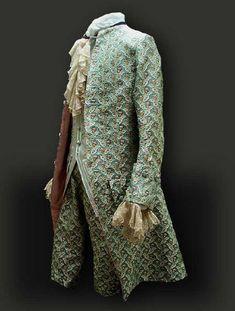 History of Western Civilization through FASHION: #16 - Men's Fashion from 1700 - 1795