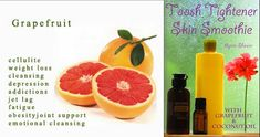 Camp Wander: How to Tighten Your Toosh and Thighs ~ Skin Smoothie using only Grapefruit and Coconut Oil.