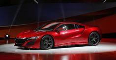 2016 Acura NSX @ 2015 Detroit Auto Show