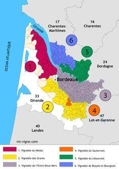 Descriptif détaillé de toutes les grandes régions des vins de France